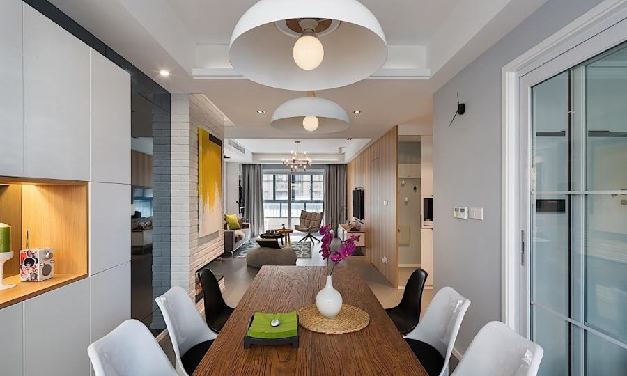 餐厅图片来自金空间装饰集团在八方小区 现代简约风的分享