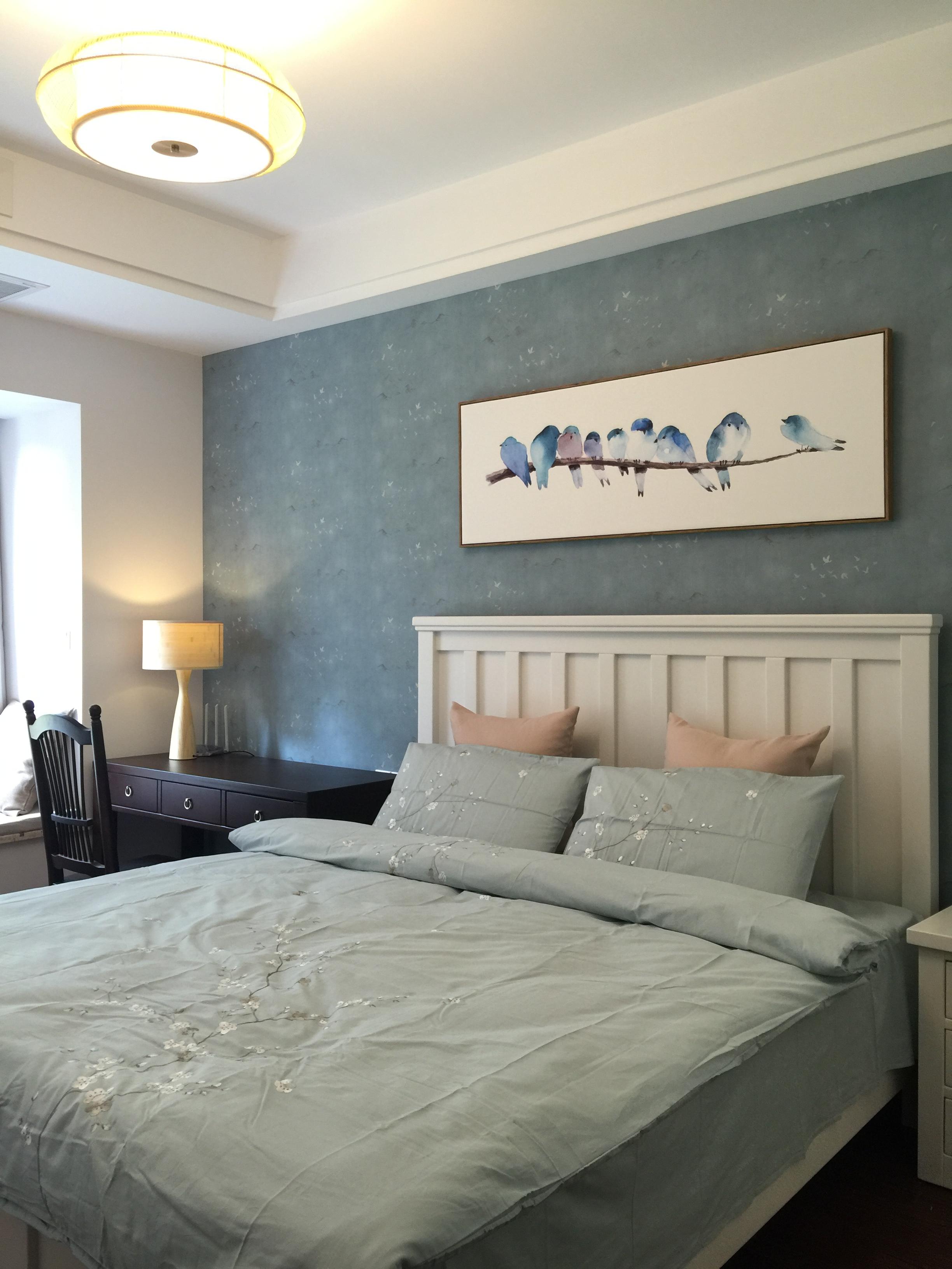 重庆唐卡装 唐卡装饰 新中式 样板间征集 1869685079 跃层 卧室图片来自黄丑丑99在岱山一品——新中式风格的分享