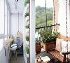 让阳台成为心中的后花园。