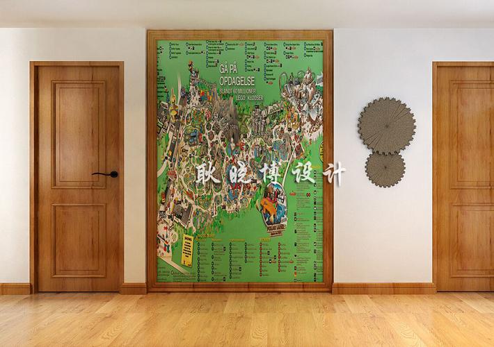简约 欧式 田园 混搭 三居 别墅 玄关图片来自沈阳百家装饰小姜在奉天九里200平新中式风格的分享