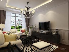 简约 现代 三居 温馨 时尚 客厅图片来自阳光力天装饰在力天装饰-远洋城-104.78㎡-现代的分享