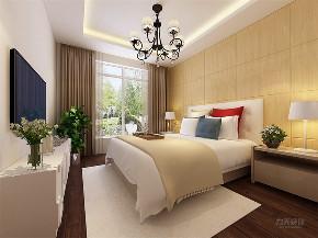 简约 现代 三居 温馨 时尚 卧室图片来自阳光力天装饰在力天装饰-远洋城-104.78㎡-现代的分享