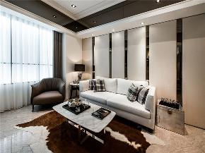 港式 二居 三居 大户型 复式 小资 80后 客厅图片来自高度国际姚吉智在122平米港式超然时尚的休憩港湾的分享