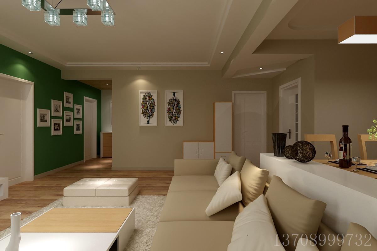 客厅图片来自董董先生在青岛阔达装饰:黄岛华裕唐城的分享