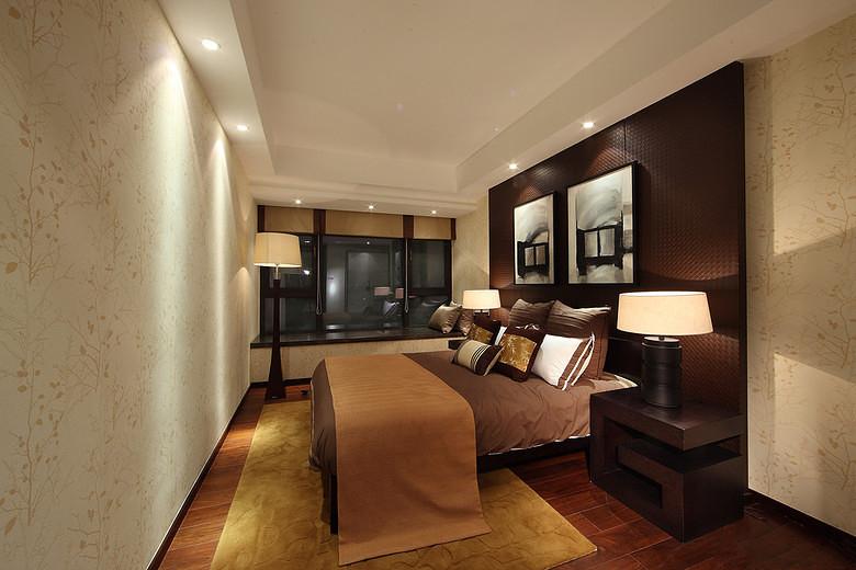 三居 中式 峰光无限 卧室图片来自西安峰光无限装饰在华润・二十四城三居135平中式的分享