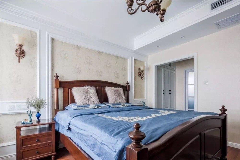 三居 卧室图片来自金煌装饰有限公司在崇休闲、浪漫、随性的美式风格的分享