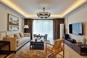 三居 旧房改造 中式 禅意 儿童房 客厅图片来自戴瑞强_样本国际在半亩方塘-康桥水郡小三居禅意的分享