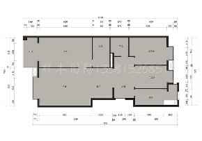 三居 旧房改造 中式 禅意 儿童房 户型图图片来自戴瑞强_样本国际在半亩方塘-康桥水郡小三居禅意的分享