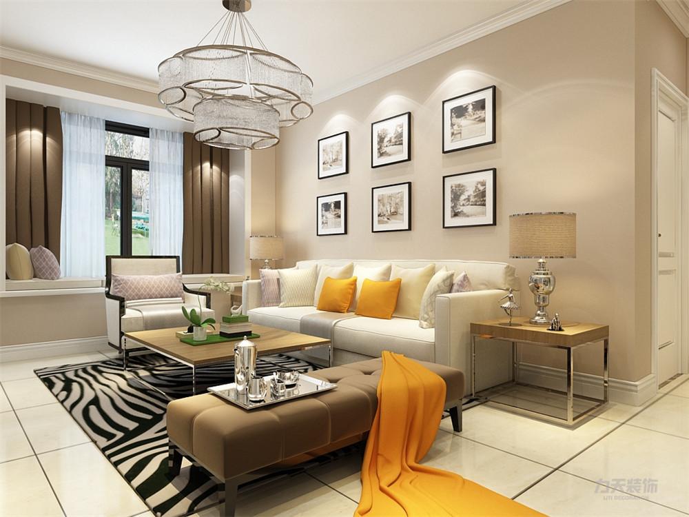 混搭 乳胶漆 三居室 现代 温馨 客厅图片来自阳光力天装饰在力天装饰-剑桥郡-98㎡-混搭的分享