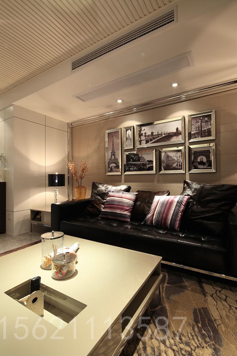 现代风格 两居室 客厅 客厅图片来自阔达装饰小段在启迪协信现代风格魅族时尚的分享