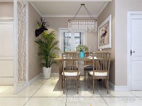 混搭 乳胶漆 三居室 现代 温馨 餐厅图片来自阳光力天装饰在力天装饰-剑桥郡-98㎡-混搭的分享