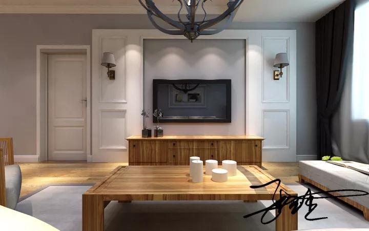 北欧风格 百家装饰 沈阳装修 室内装修 室内设计 客厅图片来自百家装饰--小莹在浦江御景湾 126平北欧风格的分享