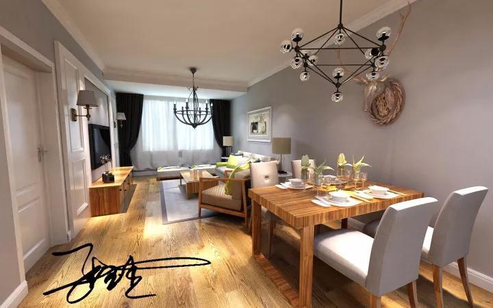 北欧风格 百家装饰 沈阳装修 室内装修 室内设计 餐厅图片来自百家装饰--小莹在浦江御景湾 126平北欧风格的分享
