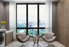 三居 混搭 80后 白领 小资 阳台图片来自江西创美乐居装饰在简约而不简单的现代混搭风的分享
