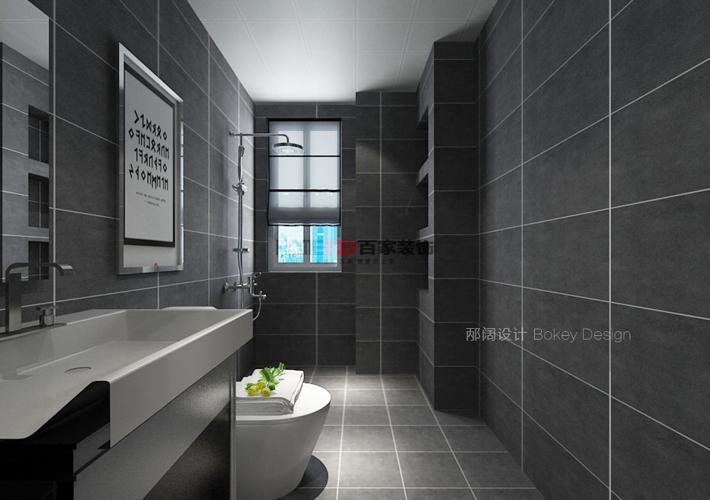卫生间图片来自沈阳百家装饰小姜在奉天九里143平现代风格的分享
