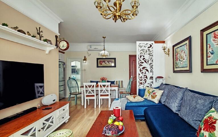 简约 田园 三居 80后 客厅图片来自众意装饰 李潇在名城天下90平米美式乡村风格的分享