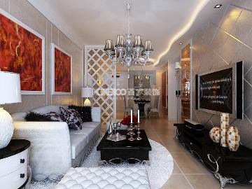 中海城96平新古典风格半包3.6万