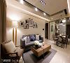 整体空间以北欧风格做为基底,善用木纹肌理的自然特质,创造出温馨的家居氛围。