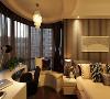 中铁建国际城三室135平现代风格