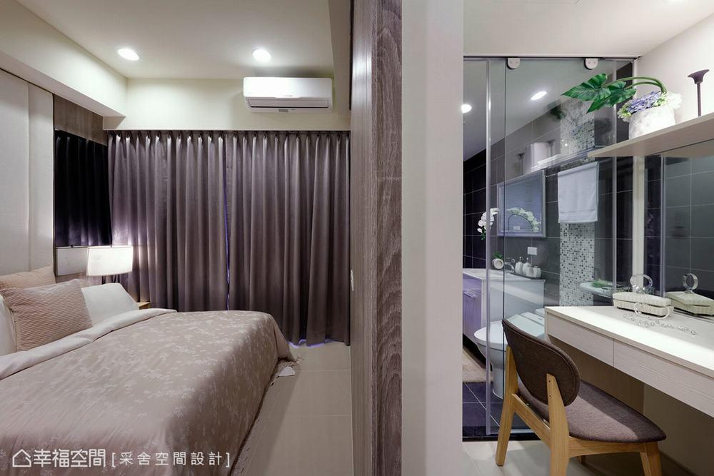 三居 北欧 卧室图片来自幸福空间在美感与机能兼备 99平休闲北欧风的分享