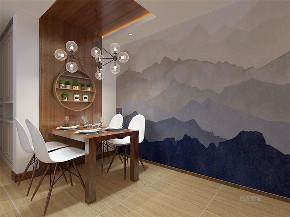 两居室 三口之家 混搭 简约 温馨 餐厅图片来自阳光力天装饰在力天装饰-尚佳新苑-120㎡-混搭的分享
