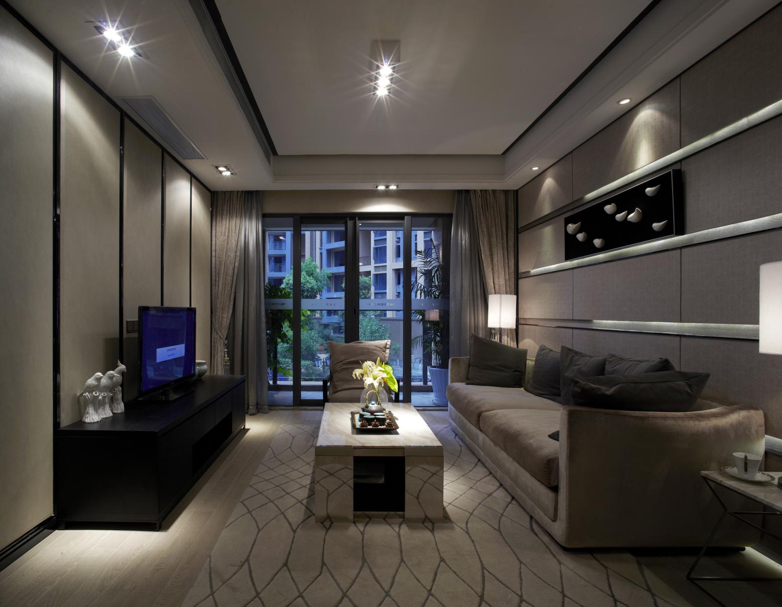 两居室 客厅 客厅图片来自阔达装饰小段在启迪协信81平 现代风格的分享