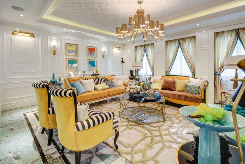 大平层装修 兄弟装饰 客厅图片来自兄弟装饰-蒋林明在重庆大平层平墅装修设计案例效果的分享