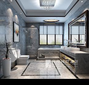 简约 欧式 田园 混搭 别墅 白领 收纳 旧房改造 80后 卫生间图片来自杭州高度国际装饰设计在潮闻天下291平方新中式风格的分享
