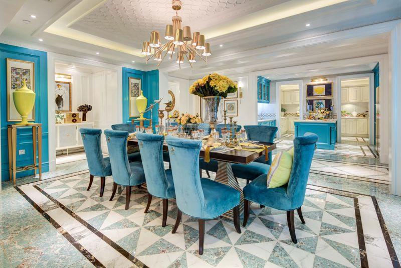 大平层装修 兄弟装饰 餐厅图片来自兄弟装饰-蒋林明在重庆大平层平墅装修设计案例效果的分享