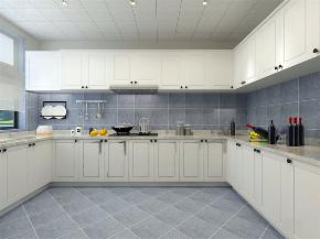简约 美式 四居室 收纳 布局 厨房图片来自阳光力天装饰在力天装饰-港新西城-148㎡-简美的分享