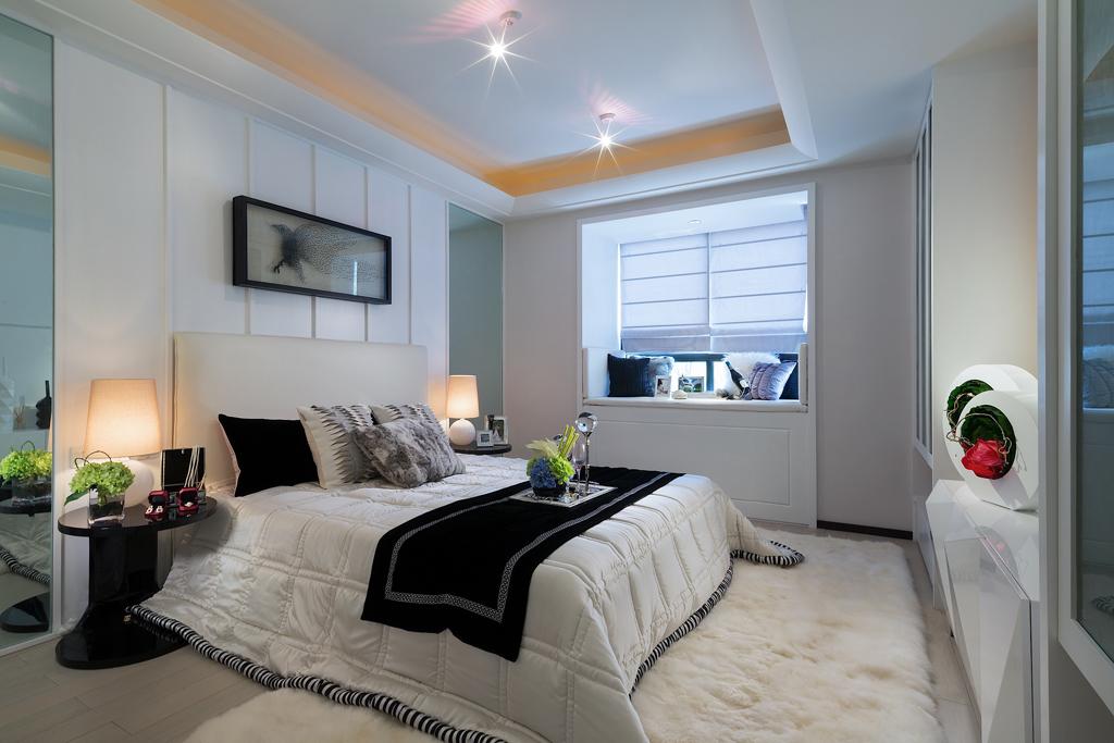 卧室图片来自我是小样在名城天下三居132平现代简约风格的分享