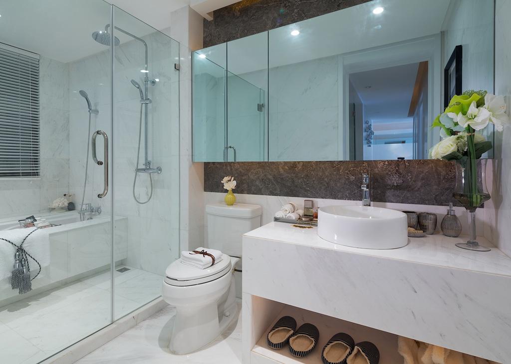 卫生间图片来自我是小样在名城天下三居132平现代简约风格的分享