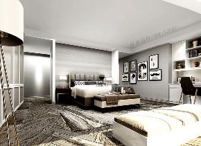 二居 白领 小资 混搭 北欧 工业 平层 衣帽间 卧室图片来自戴瑞强_样本国际在木棉-阳光上东大平层两居的分享