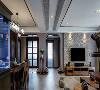 客厅+餐厅空间