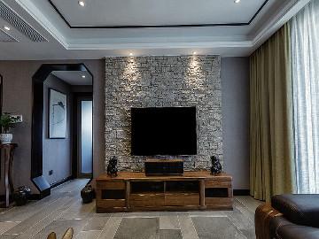 清新淡雅 130平新中式舒适3居室