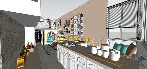二居 混搭 田园 收纳 久栖设计 厨房图片来自久栖设计在久栖设计丨现代混搭丨好色畅想的分享