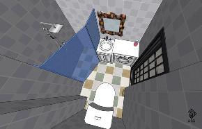 二居 混搭 田园 收纳 久栖设计 卫生间图片来自久栖设计在久栖设计丨现代混搭丨好色畅想的分享