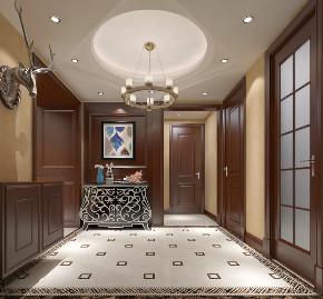 简约 混搭 三居 白领 美式 田园 玄关图片来自圣奇凯尚室内设计工作室在圣奇凯尚装饰-美式风格的分享