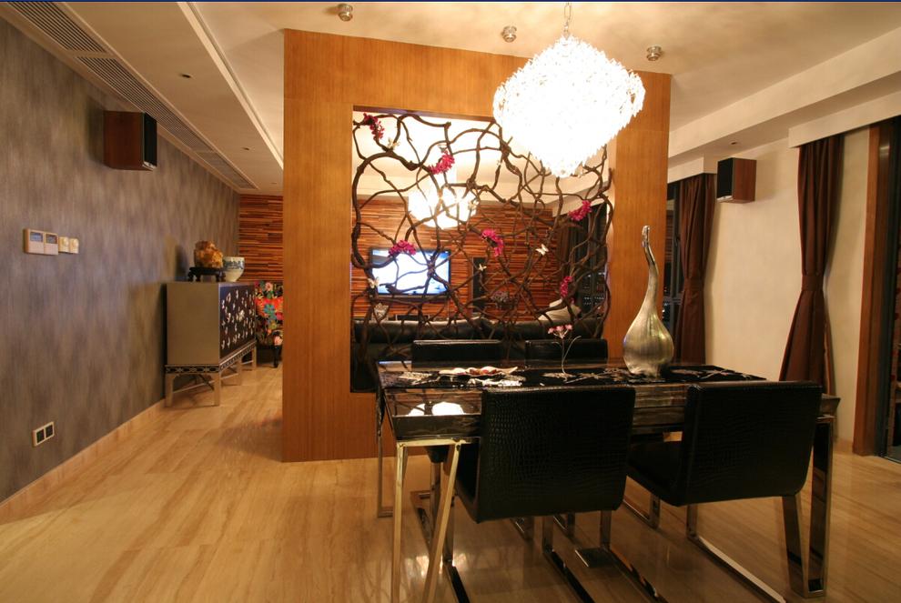餐厅图片来自西安峰光无限装饰在紫境城三居142平现代简约风格的分享