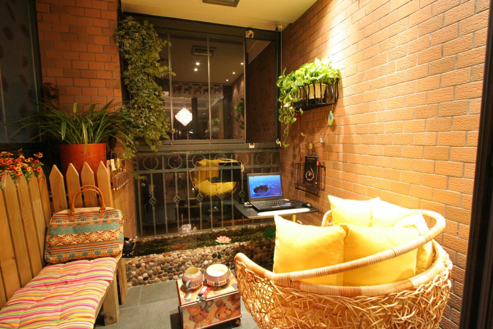 阳台图片来自西安峰光无限装饰在紫境城三居142平现代简约风格的分享
