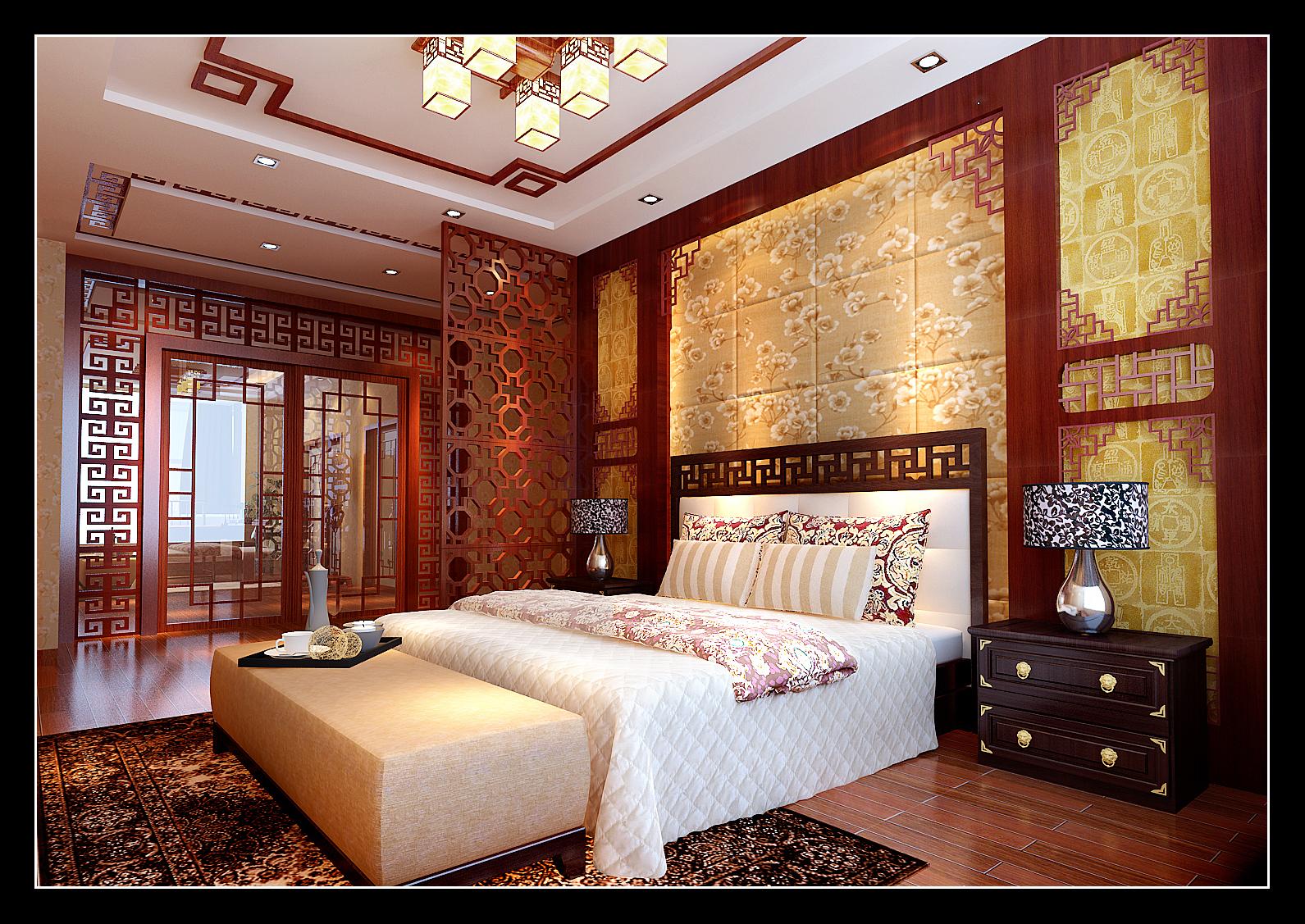 卧室图片来自新浪家居江西站在美丽的自建房的分享