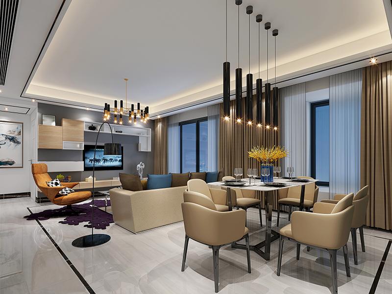 简约 客厅图片来自深圳浩天装饰在浩天装饰-中粮凤凰里。的分享
