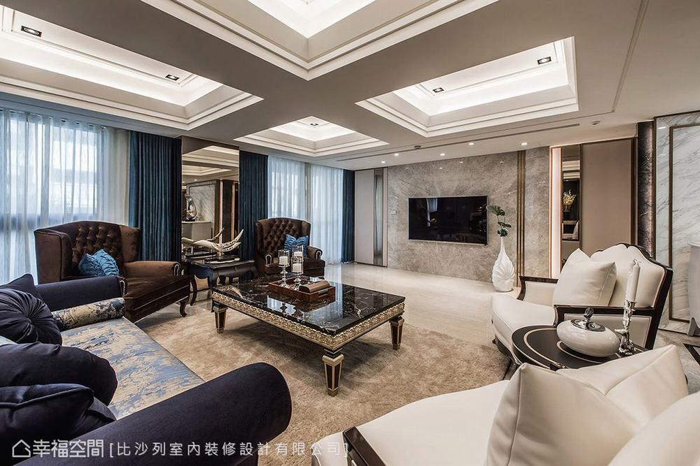 二居 新古典 大户型 客厅图片来自幸福空间在贵族生活态度 165平英式尊荣会所的分享