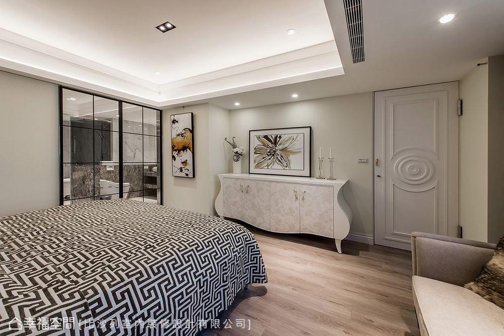 二居 新古典 大户型 卧室图片来自幸福空间在贵族生活态度 165平英式尊荣会所的分享