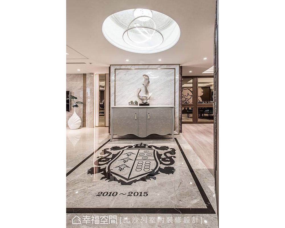二居 新古典 大户型 玄关图片来自幸福空间在贵族生活态度 165平英式尊荣会所的分享