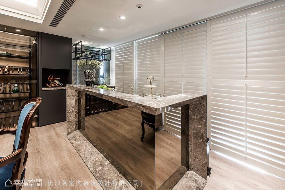 二居 新古典 大户型 厨房图片来自幸福空间在贵族生活态度 165平英式尊荣会所的分享