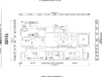 西水铂公馆114平现代简约风格