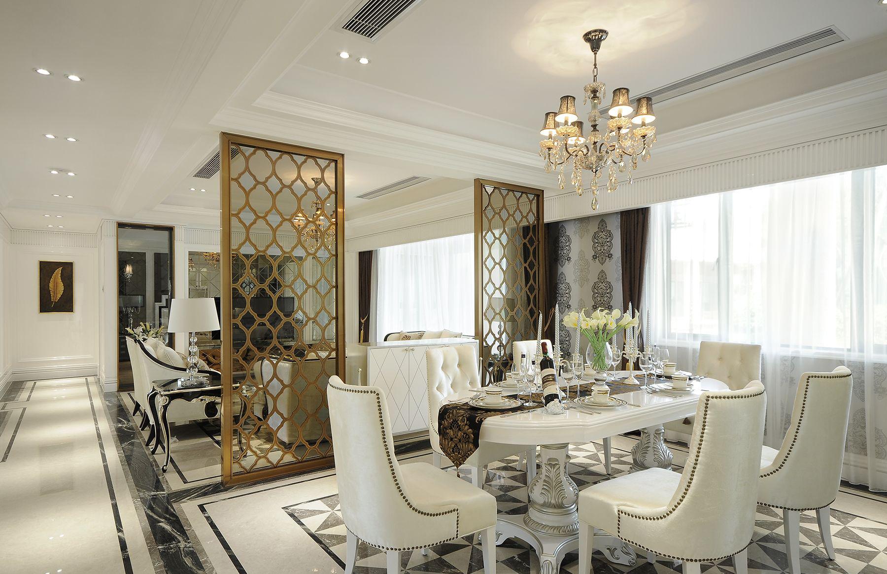 重庆唐卡 唐卡装饰 装修最好 新古典 餐厅图片来自黄丑丑99在圣湖天域——新古典的分享
