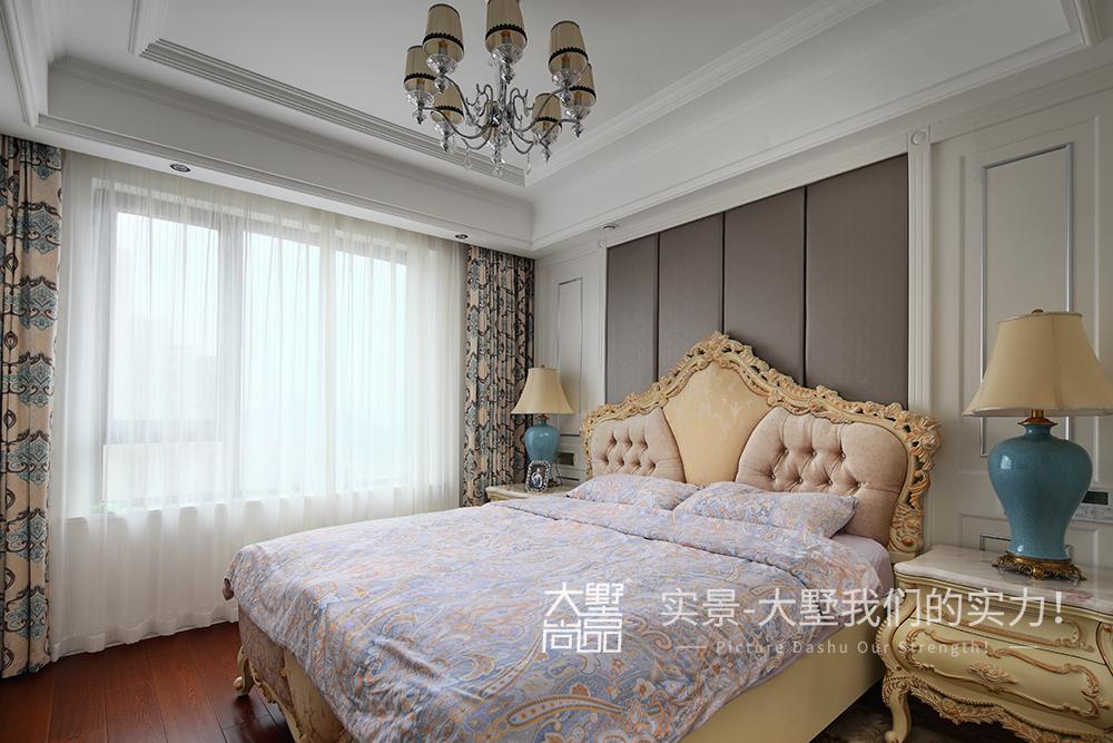 欧式 三居 卧室图片来自大墅尚品-由伟壮设计在沐雪雅律·值得收藏的欧式公寓的分享