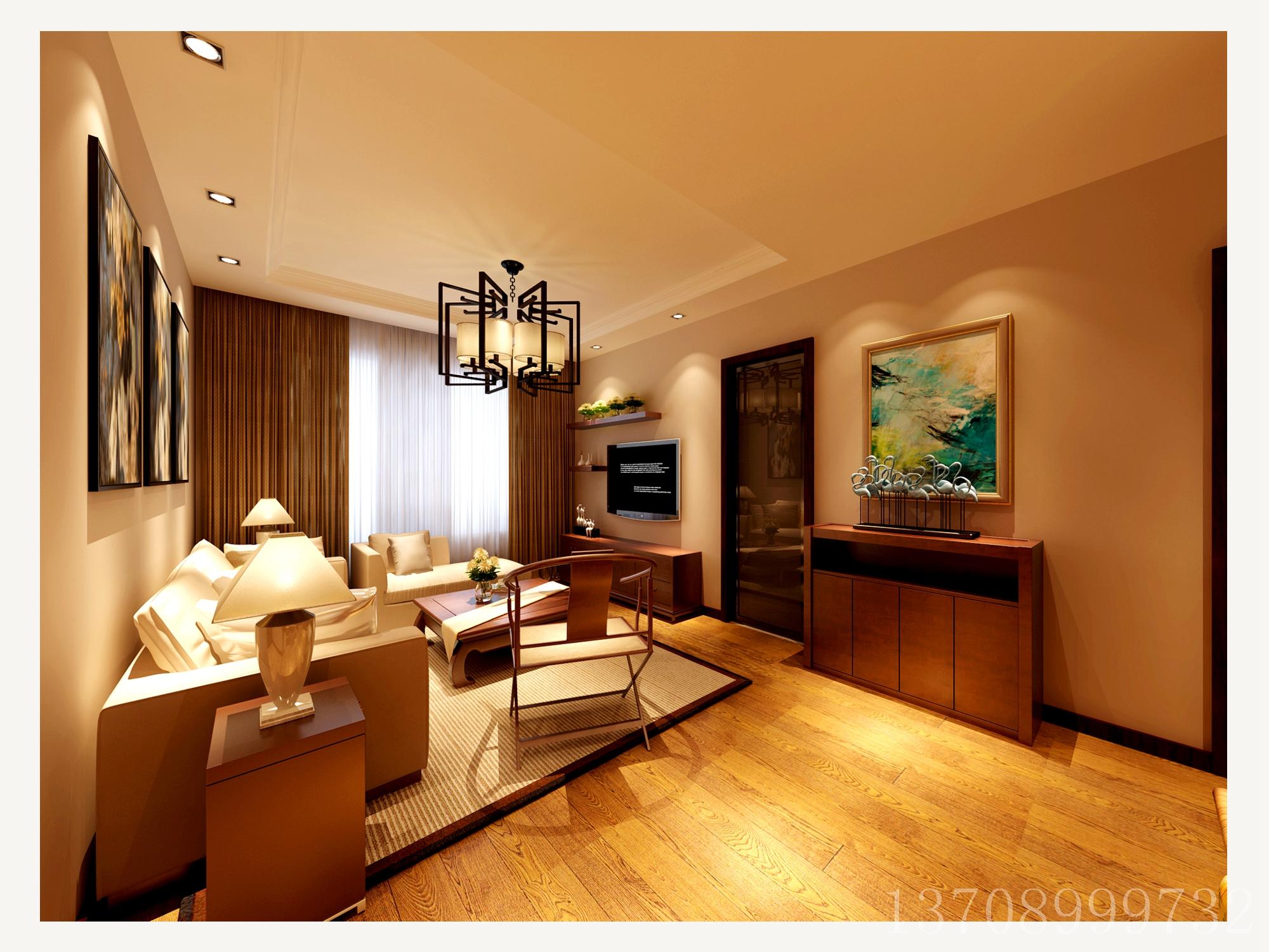 客厅图片来自董董先生在青岛阔达装饰:李沧康太源的分享
